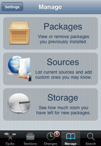Cydia-Manage