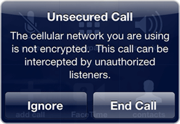 Unsecured-Call