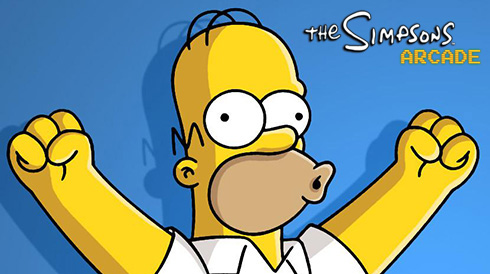 The-Simpsons-iPhone