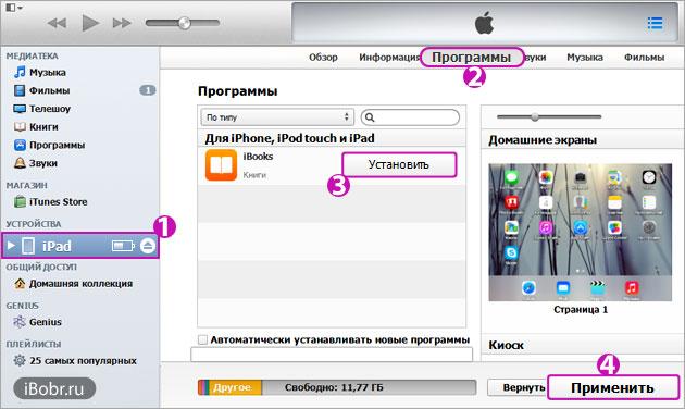 iBooks-iTunes