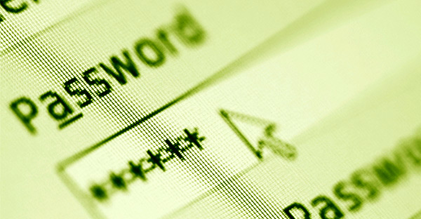 Регистрация пароля