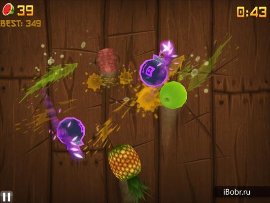 скачать игру на планшет резать фрукты - фото 2