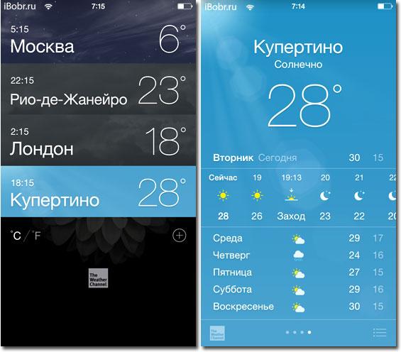 Pogoda-iOS8