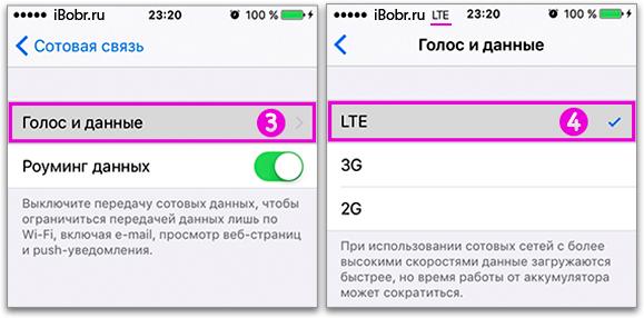 Лте на айфон 5s